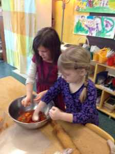 punching tomatoes Maya Rhianna