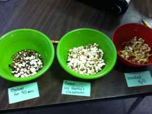 labeled popcorn results