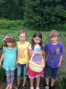 garden harvesters July
