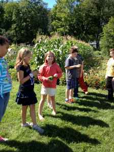 sharing what we noticed in the garden