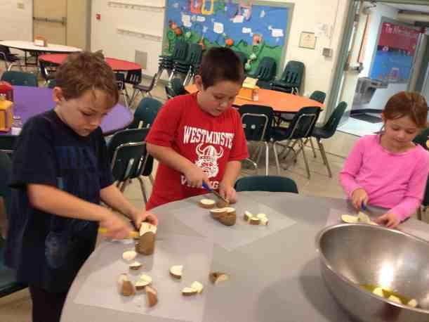 cutting potatoes 2