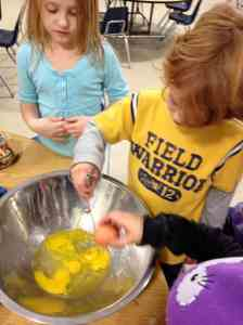 learning to crack eggs