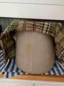 Crock Fermenting Sour Kraut