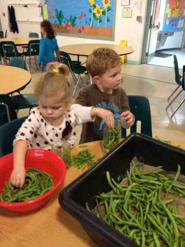 siblings at our pickling workshop