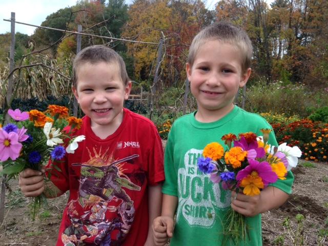 K Boys in the Garden