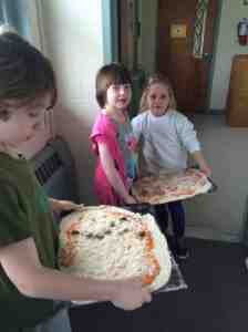 pizza ready for the oven