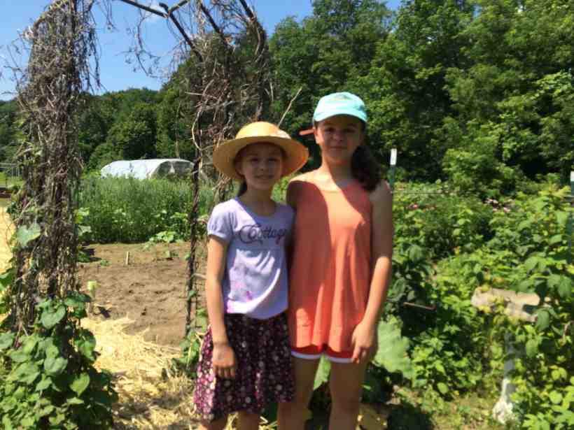 Garden Tour Visitors