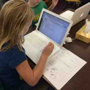 Using a graphic organizer to support writing