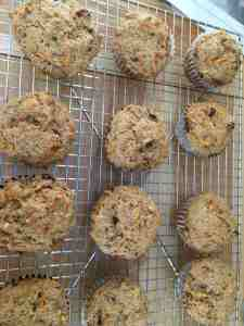 carrots muffins